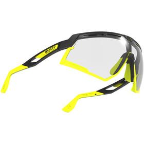 Rudy Project Defender Gafas, negro/amarillo